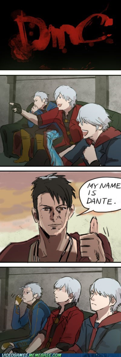 dante devil may cry reaction guys the feels - 6456781568