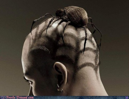 best of week creepy design g rated hair Hall of Fame poorly dressed spider weird what - 6457121280