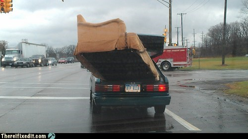 car fail,couch,moving