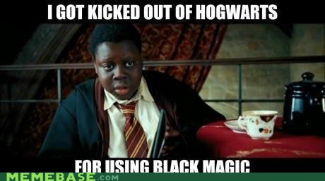 Black magic cant tell if racist cant-tell-if-racist Harry Potter Memes - 6457938176