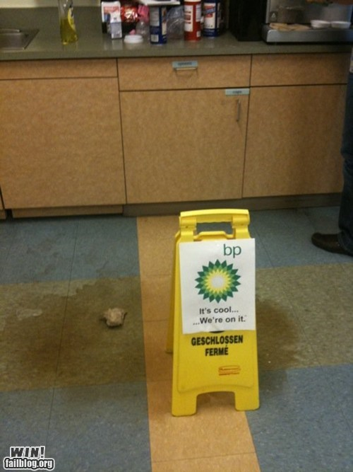 accident,bp,Office,oil spill,spill,whoops