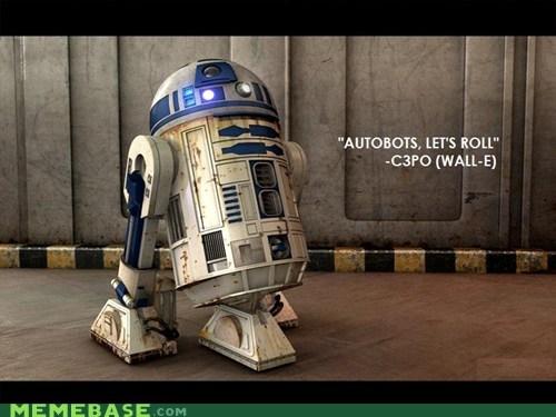 misquotes r2d2 robots star wars