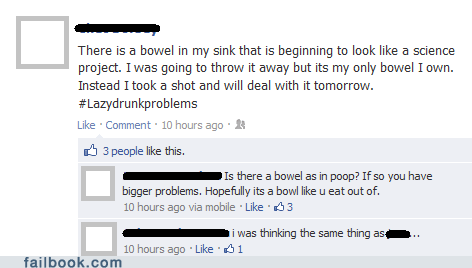 bowel poop kitchen sink bowl typos