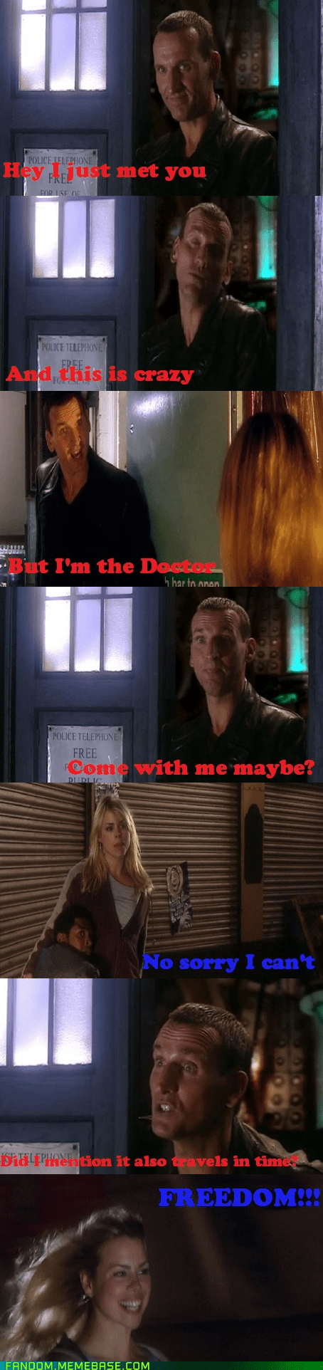 call me maybe,doctor who,freedom,It Came From the,It Came From the Interwebz