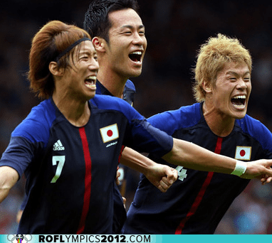 Japan,olympics,soccer,Spain,upsets