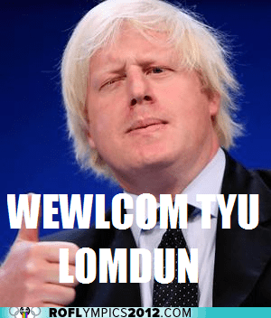 boris johnson,derp,London,London 2012,mayor