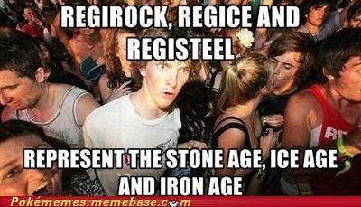 Memes,regice,regirock,regis,registeel,sudden clarity clarence