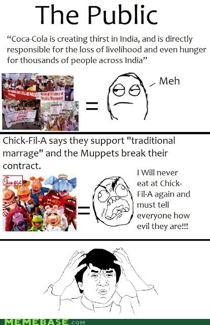 chick fil-a controversy current events in the news Memes wtf - 6458883072