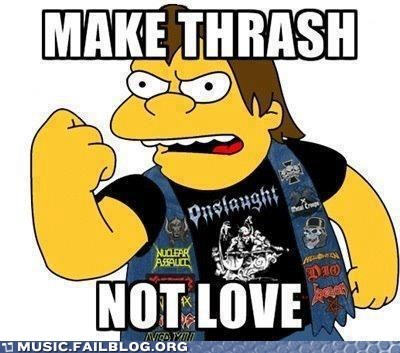 metal nelson the simpsons thrash thrash metal - 6458911232