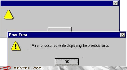 error error message meta