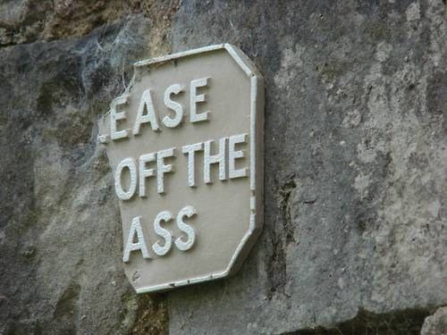 ass grass IRL sign - 6458991872