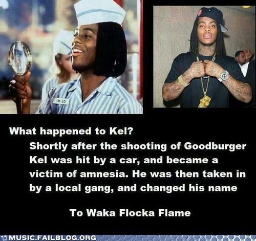 good burger,kel,kenan and kel,Waka Flocka Flame