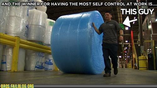 bubble wrap,work
