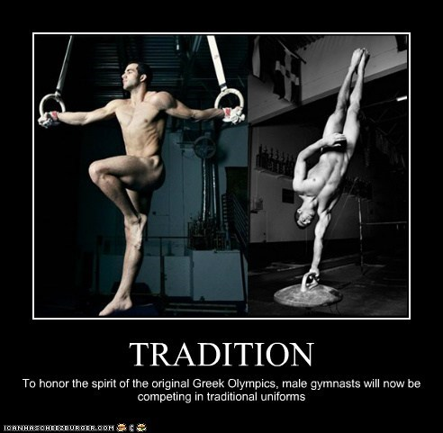 gymnastics,naked,tradition,uniforms