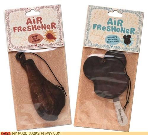 air fresheners car disney ice cream scent smell turkey leg - 6459598848