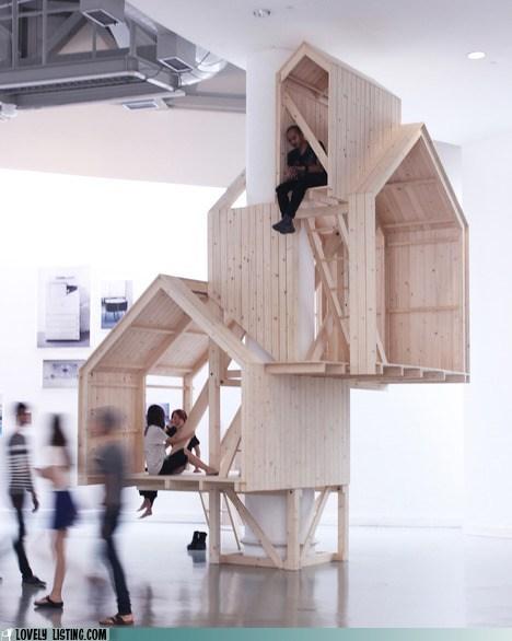 bedrooms industrial loft playhouse step up - 6459626752