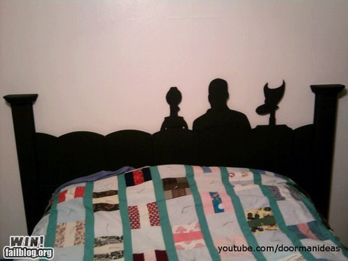 bed,design,headboard,mst3k,mystery science theater 3,mystery science theater 3000,nerdgasm