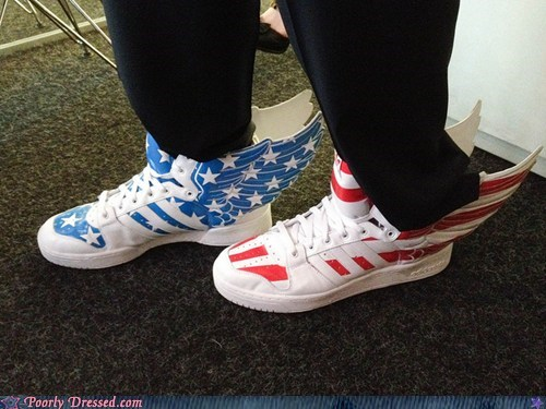 design flag merica shoes sneakers - 6459661056