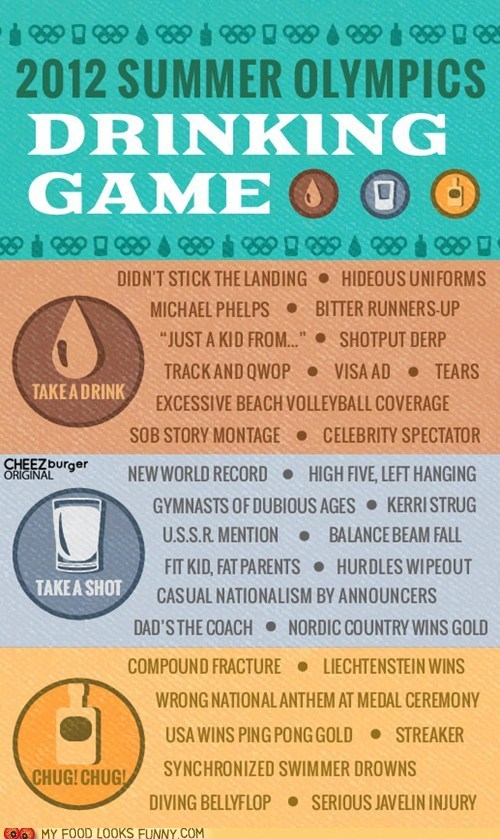 booze drinking game infographic olympics ROFLympics - 6459765504