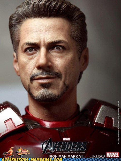 iron man Random Heroics robert downey jr tony stark toy - 6459837440
