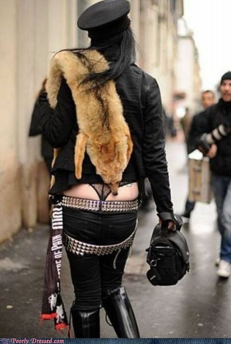 fur,punk,underwear,what