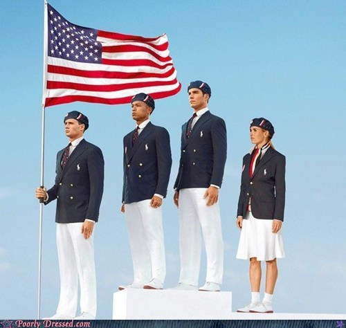 olympics Ralph Lauren sports uniform