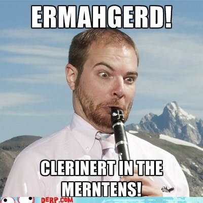 clarinet Ermahgerd instrument mountains - 6460478464