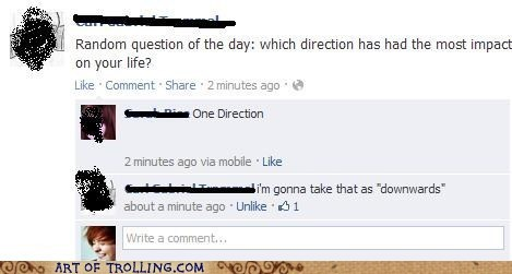 direction,downward,facebook,one direction