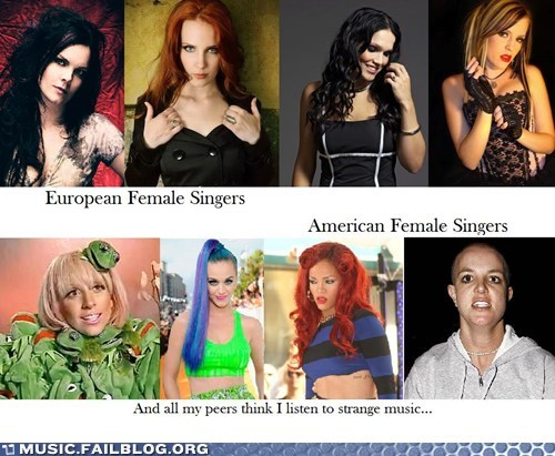 american britney spears european katy perry lady gaga pop rihanna