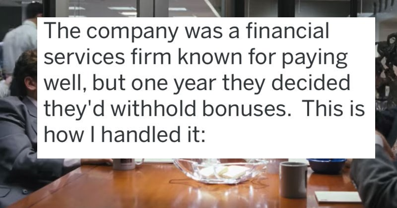revenge against corporate greed