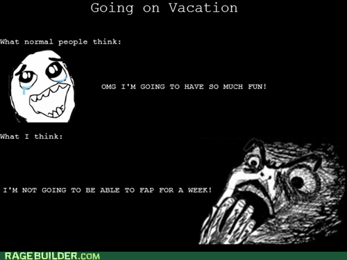 faptimes,Rage Comics,raisin horror,vacation
