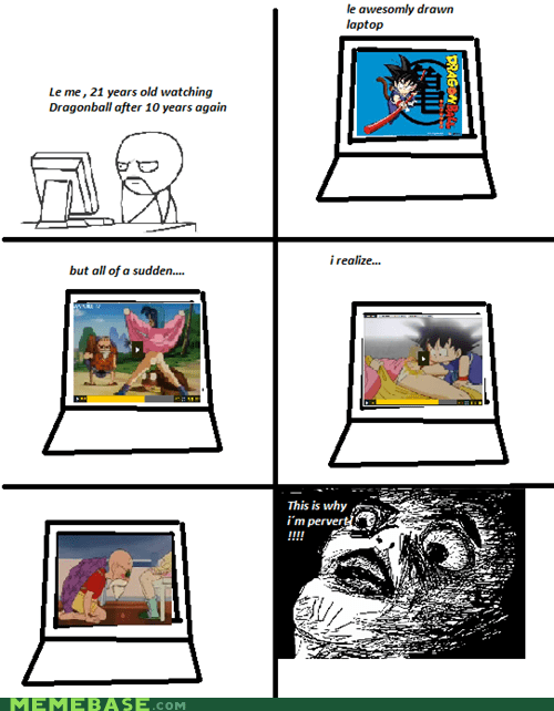 Dragon Ball Z master roshi Rage Comics raisin face - 6461231872
