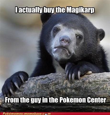 Confession Bear magikarp meme Memes - 6461253376