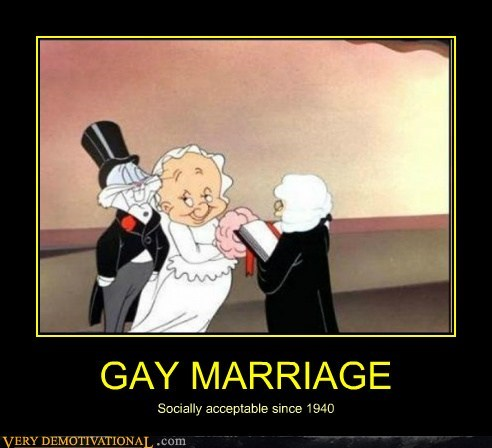 bugs bunny,gay,marriage,Pure Awesome