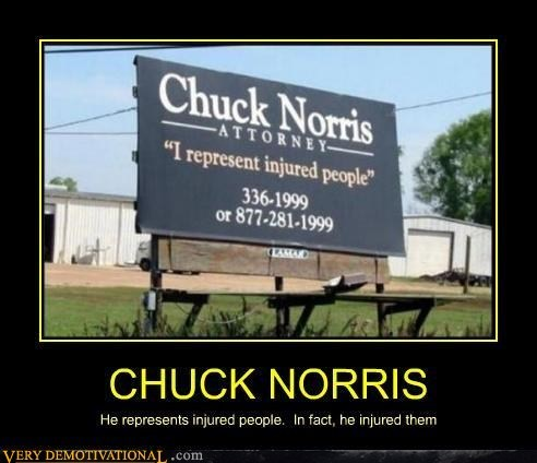 attorney,chuck norris,hilarious,injuries
