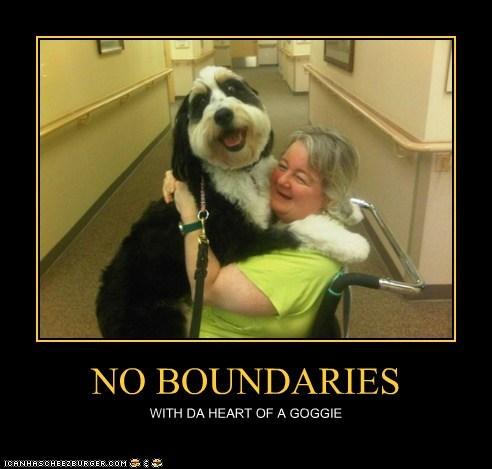NO BOUNDARIES WITH DA HEART OF A GOGGIE