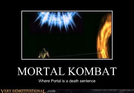 hilarious,Mortal Kombat,Portal