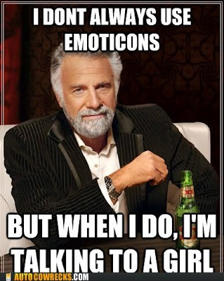 emoticons most interesting man in t most interesting man in the world talking to a girl - 6461489408