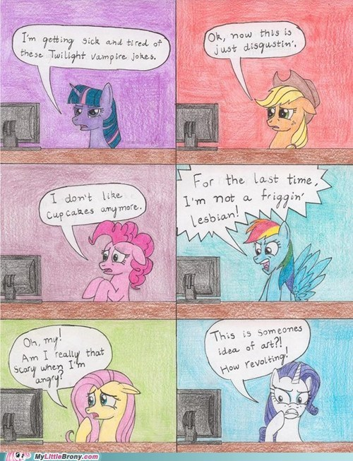 comic drawing mane six the internet the internets - 6461607424