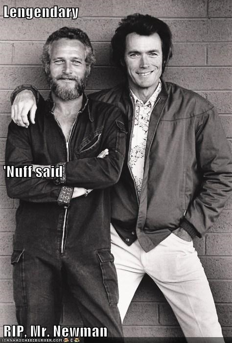 Lengendary 'Nuff said RIP, Mr. Newman