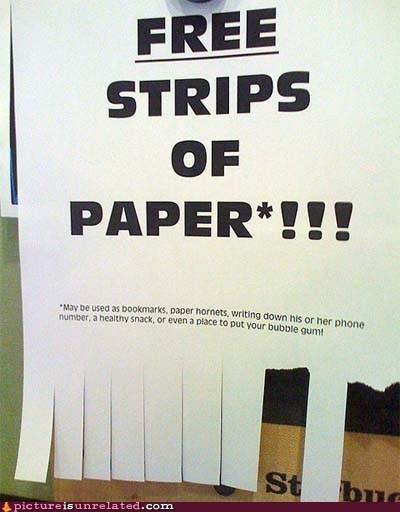 Ad,free,paper