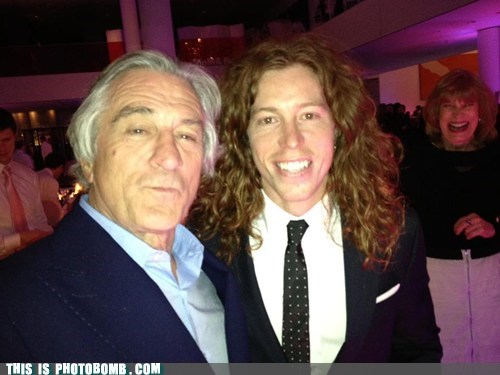 Celebrity Editio Celebrity Edition flying tomato robert de niro shaun white