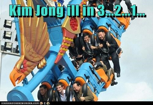 kim jong-un,North Korea,political pictures,rollercoaster