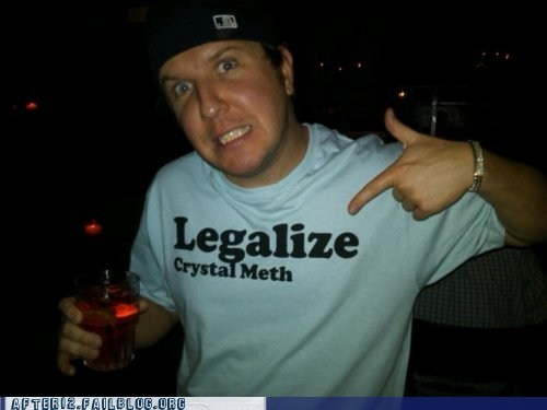 after 12 crystal meth g rated legalize crystal meth meth methamphetamine T.Shirt - 6461817600