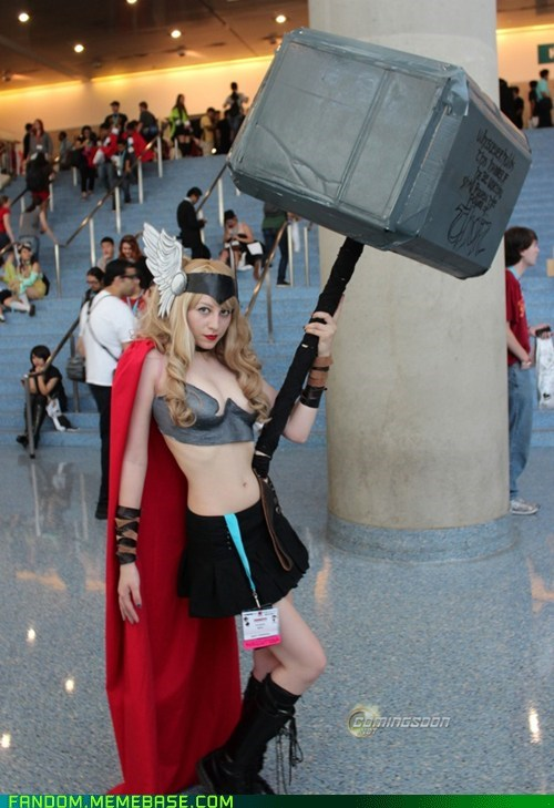 avengers cosplay lady thor rule 63 Thor