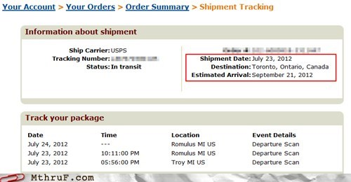 delivery package shipment usps - 6461919232