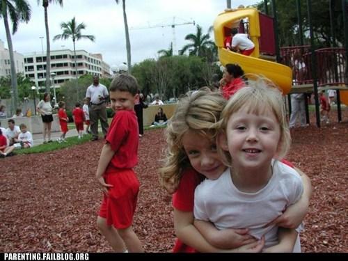 children playground posing - 6461959680