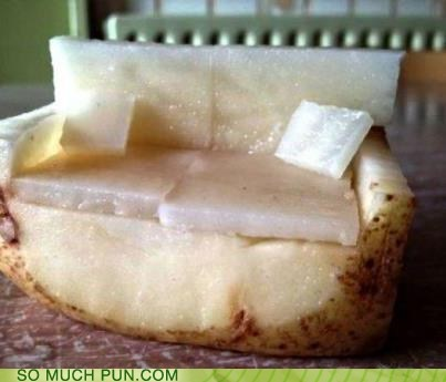couch couch potato double meaning literalism potato - 6461991424