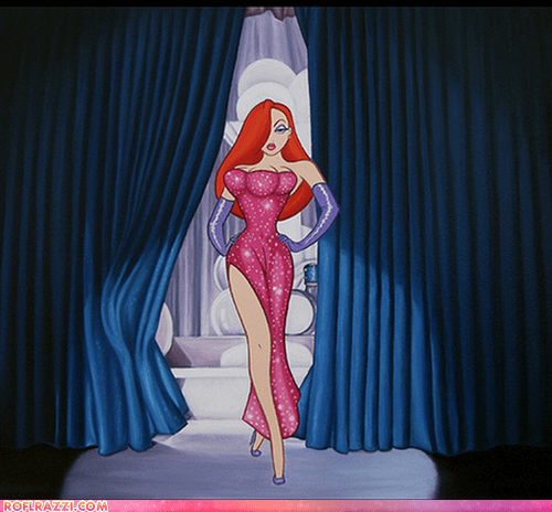 animation,disney,fake,funny,jessica rabbit,shoop,total recall