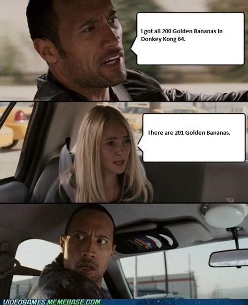 donkey kong 64 golden bananas meme - 6462163968